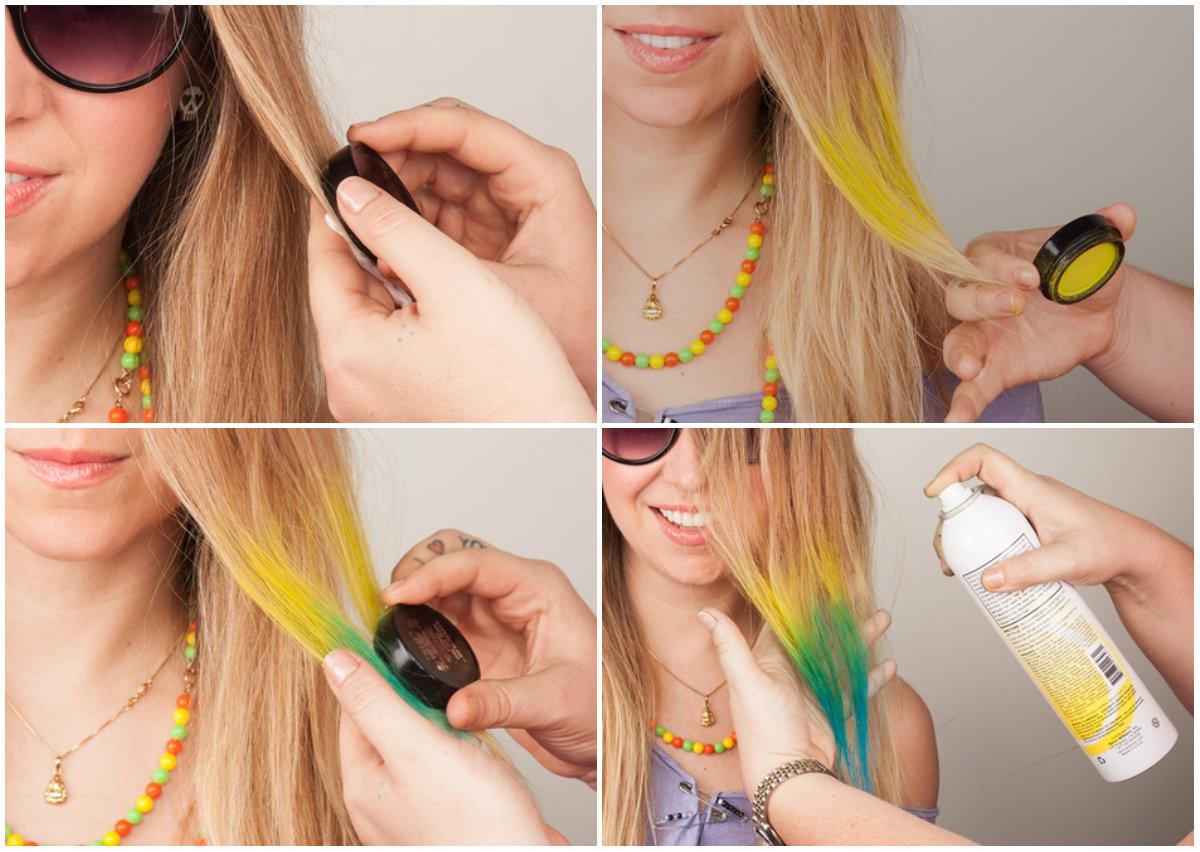 Как покрасить волосы в домашних условиях без краски в темный цвет
