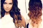 Модное и элегантное окрашивание волос в стиле омбре