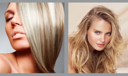 Частичное французское мелирование на русые волосы