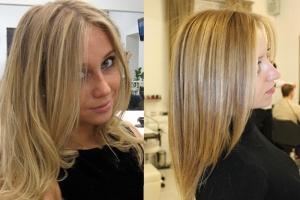 Отзывы о мелировании на русые волосы