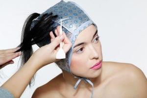 Шапочка для мелирования волос