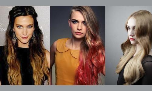 Варианты мелирования балаяж на русые волосы
