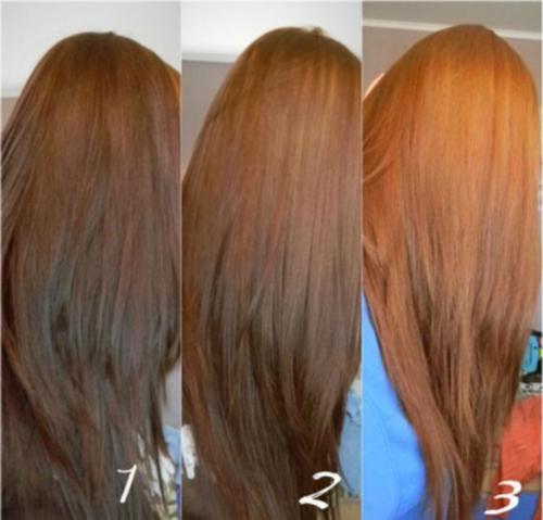 Смывка цвета волос мылом