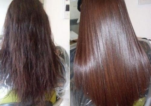 Эффект от желатинового ламинирования волос в домашних условиях