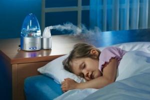 Увлажнители воздуха для детской комнаты