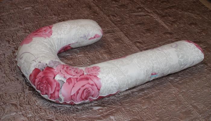 Г-образная подушка для комфорта беременных женщин