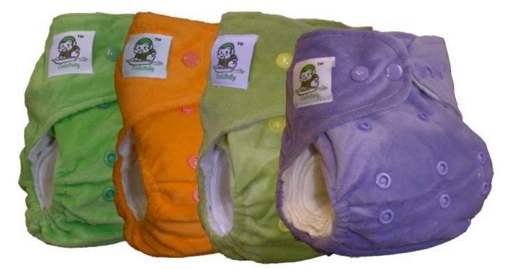 Многоразовые подгузники для новорожденных и не только