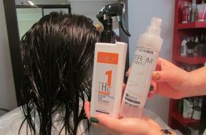 Процесс нанесения ботокса на волосы