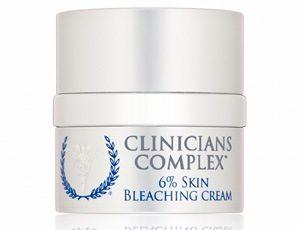 Крем для отбеливания кожи лица «Clinicians Complex»