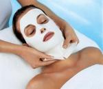 Альгинатную маску используют для лица и тела