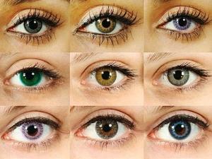 Цветные контактные линзы дают возможность изменять цвет глаз