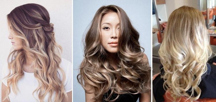Окрашивание волос шатуш балаяж омбре