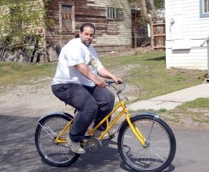 Как выбрать велосипед для тяжелого мужчины