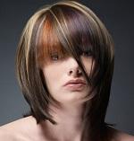 Колорирование на темные волосы - виды и техника окрашивания