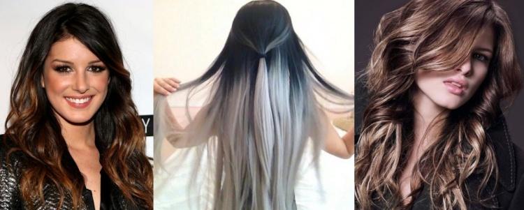 Как можно покрасить черные волосы