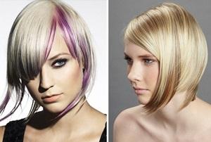 Колорирование светлых и русых волос и нюансы при выборе цвета