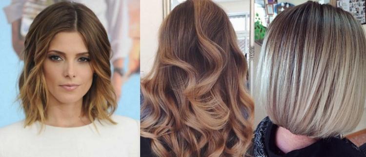 Типы покраски волос