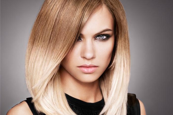 Виды брондирования на светлые волосы: омбре