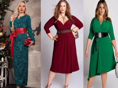 Женщина 40 лет в платье