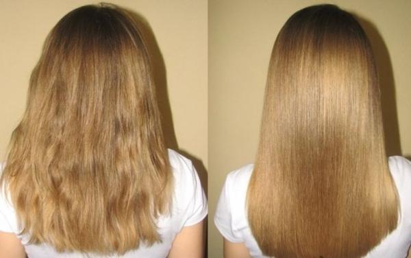 Волосы после использования кокосового масла, фото до и после