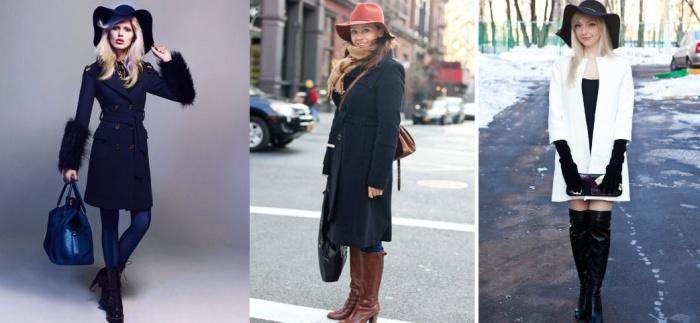 С чем можно носить головной убор, к какому пальто для женщин подойдут