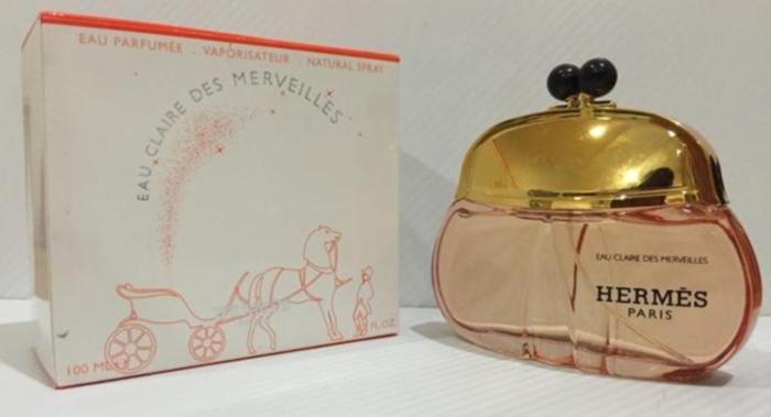 Пудровые духи Hermes Eau Claire des Merveilles