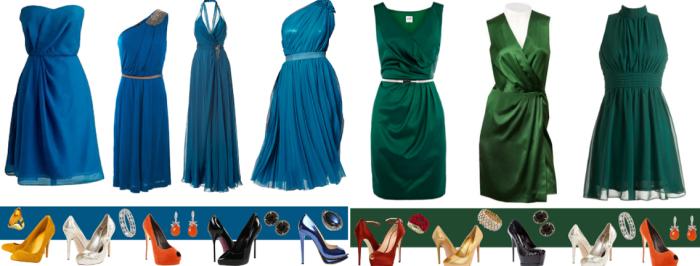 Как подобрать туфли к нарядному платью для женщины 50 лет