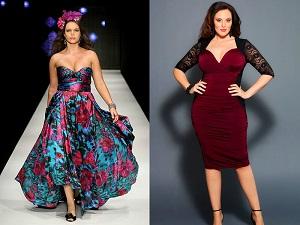 Как правильно подобрать цвет платья полным женщинам на юбилей