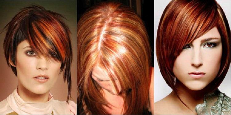Как проходит процедура мелирования на рыжие волосы - несколько способов покраски
