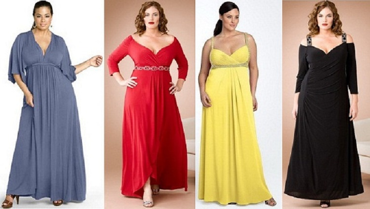 Как выбрать нарядное платье на юбилей - рекомендации для полных женщин