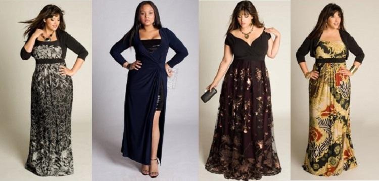 Какие платья подходят для полных женщин - выбираем подходящее