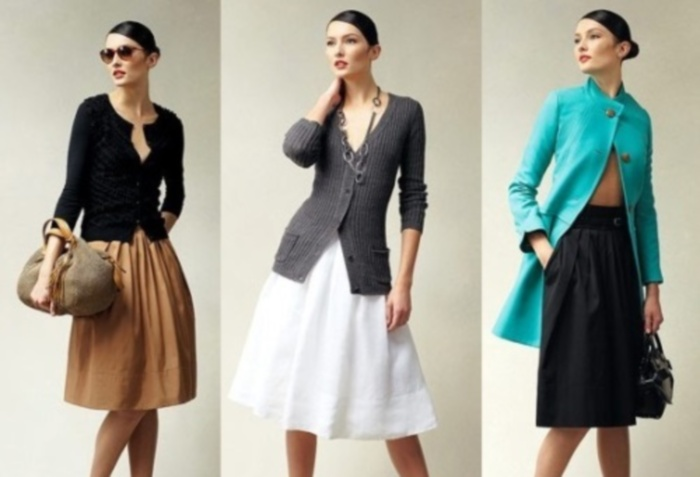 Какие юбки подходят женщине после 40 лет