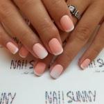 Маникюр френч на короткие ногти - правила покраски