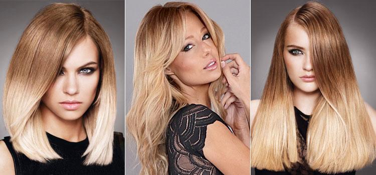 Окрашивание омбре на светлые волосы - виды и стили покраски