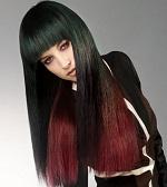 Омбре на черные волосы - кому подходит такой метод окрашивания