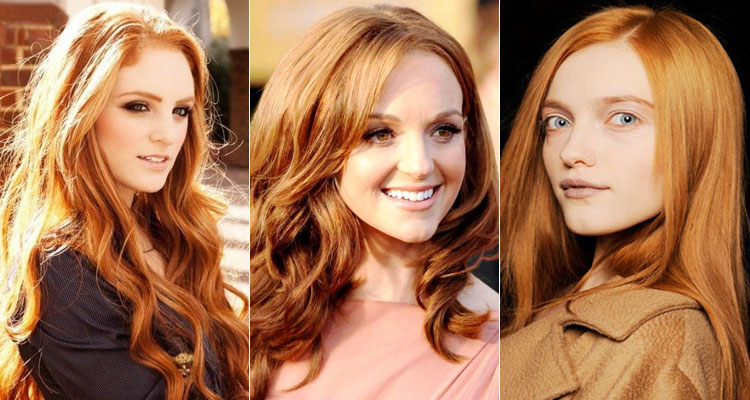 Оттенки рыжего цвета волос - как правильно выбрать подходящий