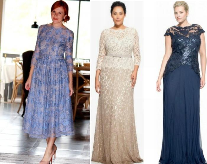 Платье для женщин из гипюра
