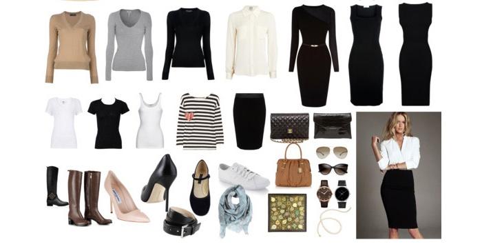 Примерный базовый гардероб для сорокалетней женщины