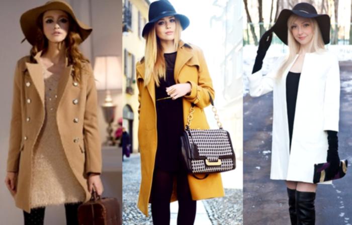 Шляпа к пальто для женщин - идеальный выбор головного убора