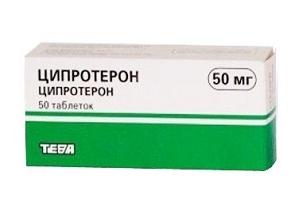 Какие препараты назначают, если гормон андростендион повышен у женщин?