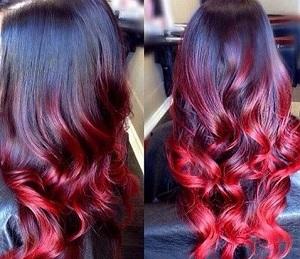Уход за волосами после окрашивания омбре красным цветом - полезные советы