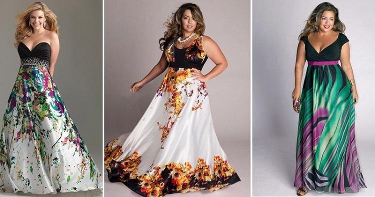 Вечерние платья для полных женщин - как подобрать подходящее