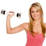 Эффективный комплекс упражнений с гантелями для женщин