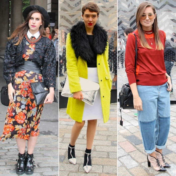 Сочетание цветов в одежде для женщин: творческий стиль
