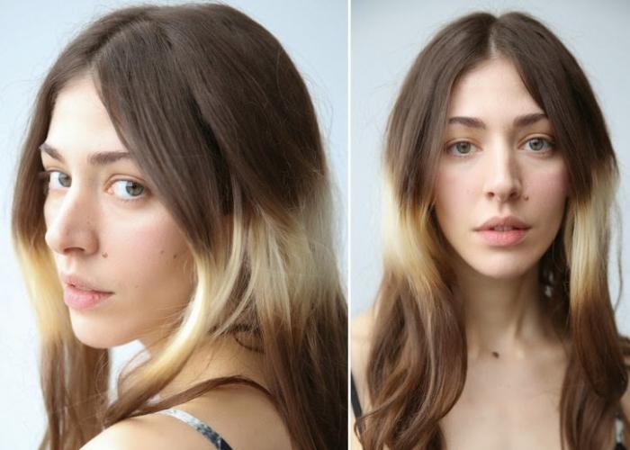 шатуш на обесцвеченные волосы