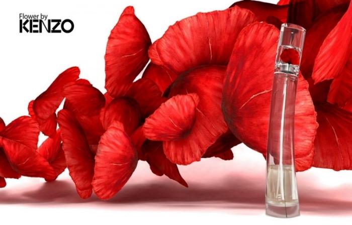 Пудровые духи Kenzo Flower