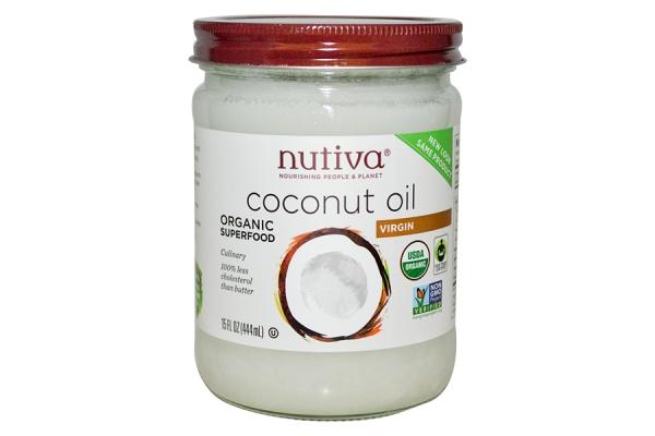 Кокосовое масло для волос Nutiva, США