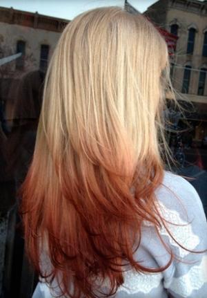 Омбре на волосы средней длины: техника выполнения окрашивания