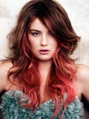 Омбре на волосы средней длины: плюсы и минусы