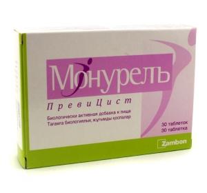Быстрое лечение цистита у женщин таблетками: препарат Монурель